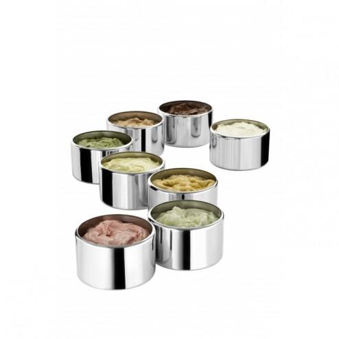 Nemox Set 8 Pans 3,7L For Gelato Sweet 4 Pozzetti